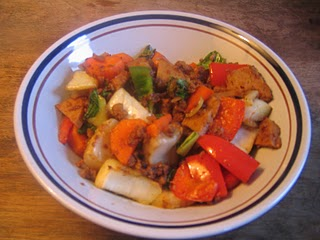 seitan vegetable stir fry Vegetable and Seitan Stir Fry Recipe