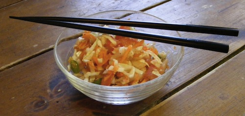 asian coleslaw Asian Coleslaw Recipe | Coleslaw Without Mayonnaise | Healthy Coleslaw