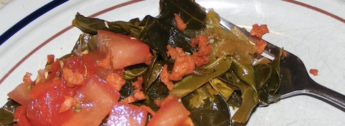 healthy collard greens Vegetarian Collard Greens Recipe | Healthy Collard Greens Recipe