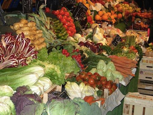 italian market 2 Cibo a Venezia (Food in Venice)