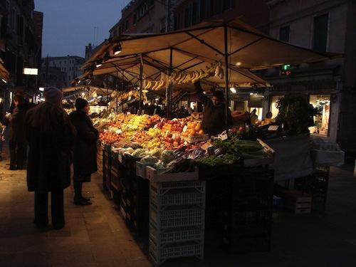 italian market Cibo a Venezia (Food in Venice)