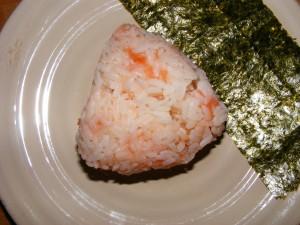 1 omusubi 300x225 Omusubi (Japanese Breakfast)