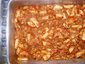 4 apple loaf 300x225 Apple Banana Oat Loaf   Blogger Secret Ingredient!