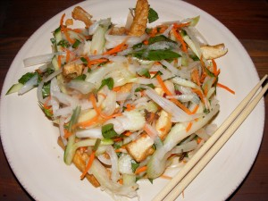4 lotus root salad 300x225 More eats for 9/20/2008 and a new site!