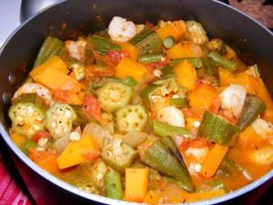 7 gumbo 300x225 Okra Squash Shrimp Gumbo