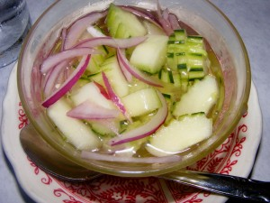 8 cucumber onion salad 300x225 Some favorites