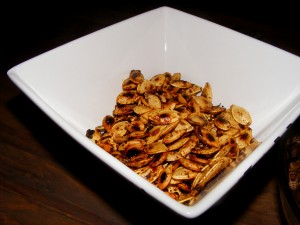 10 pumpkin seeds spciy 300x225 Hip hip hooray for PB&J