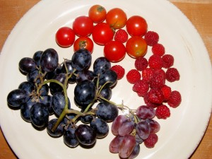 3 fruit plate 300x225 05 October 2008   Afternoon/Evening