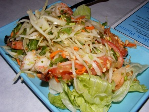 4 papaya salad 2 Blogging Friends!