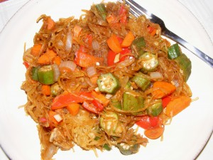 4 spaghetti squash stirfry 300x225 08 October 2008