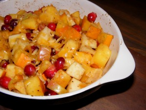 5 cranberry bake 300x225 Cranberry Apple Pumpkin Bake   Blogger Secret Ingredient