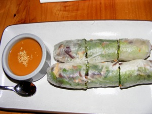 6 veggie spring roll copy The Creamiest Oats