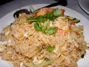 7 crab fried rice 2 Blogging Friends!