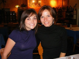 9 me and brittany 2 Blogging Friends!