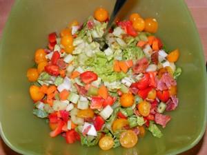 9 salad 300x225 Halloween Shenanigans