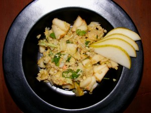5 pear crab salad 300x225 Pear & Crab Salad   Blogger Secret Ingredient