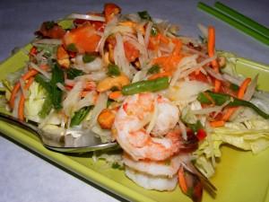 5 prawn papaya salad copy 300x225 The 12 mile Friday