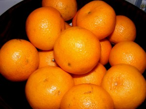 6 clementines 300x225 Im home!  And a salad challenge update.