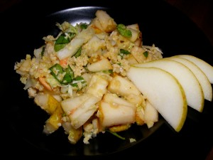 6 pear crab salad 300x225 Pear & Crab Salad   Blogger Secret Ingredient