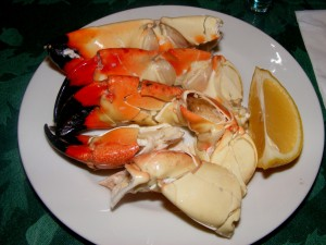 6 stone crab 300x225 At Bobbys parents house