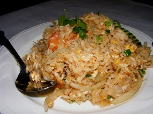 8 crab fried rice copy 300x225 The 12 mile Friday