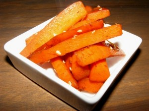 5 carrot kinpira 300x224 Healthy Carrot Kinpira