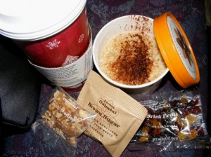 9 oatmeal starbucks 300x224 Holidays, parties, desserts OH MY!