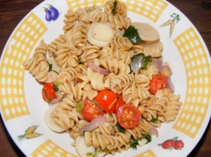 14 pasta salad 300x224 Pasta Salad with Veggies