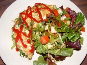 27 omelette salad 300x225 So Fraiche and So Clean