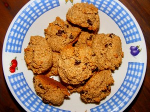 18 oat bran scones 300x225 Oat Bran Mini Scones (Macrobiotic)