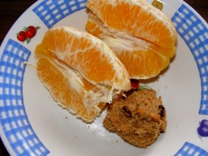 23 orange scone 300x225 A day in the life (macrobiotic ish) & 7 loves