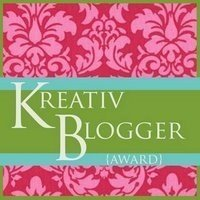kreativ blogger Friday eats, and an award :)