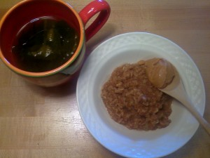 13 oatmeal mighty maple pb breakfast 300x225 Salad & soy yogurt love + an old oaty favorite