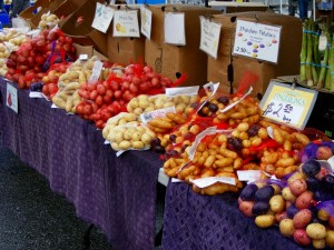 14 farmers market potatoes 300x225 Menu Plan Monday (vegetarian/vegan/macrobiotic)