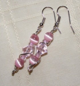 23 pink earrings 281x300 Its about time for a giveaway!