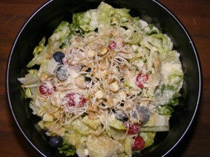 09 berry salad 300x225 Memorial Day and Challenge Recap