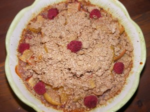 10 apple pie macrobiotic 300x225 Awesome Macrobiotic Apple Raspberry Pie