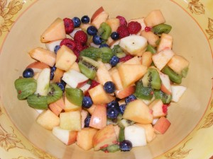 17 fruit salad 300x225 Up! We Go