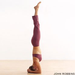 headstand Yoga Flow Sequence