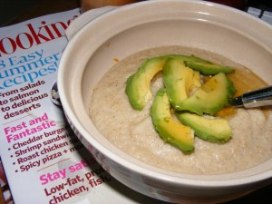 12 avocado honey oat bran