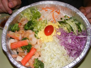 12 shrimp bi bim bap 300x225 Sunnybowl Dinner