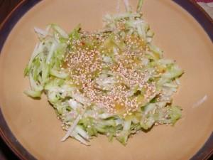 15 sesame chayote 300x225 Sesame Seed Lovin