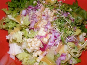 21 salad closeup