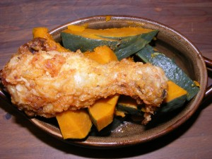 22 kabocha chicken 300x225 My own healthy yums