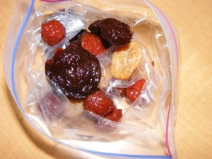 25 dried fruit