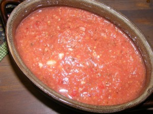 27 gazpacho 300x225 Gazpacho Recipe (Raw)