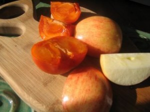 persimmons2 300x225 Some favorites