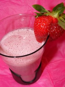 strawberry lassi 225x300 Recipe time   healthy inspiration