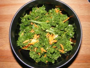 15 massaged kale 300x225 Massaging Kale