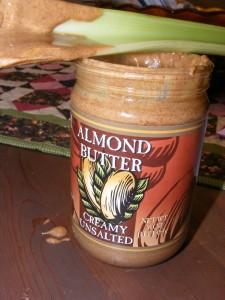 17 almond butter celery